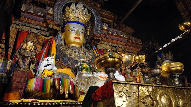 het boeddhisme klooster